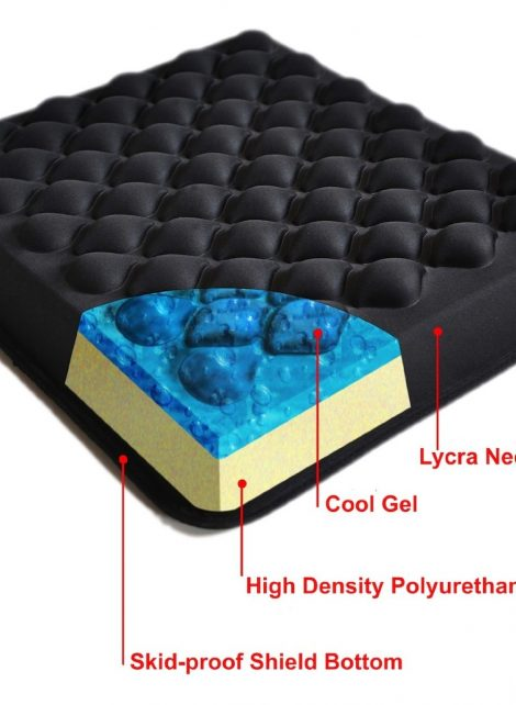 Inside Gel Wheelchair Cushion