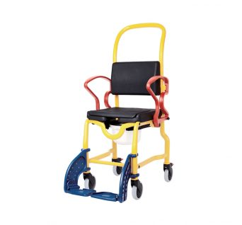 Rebotec Augsburg shower commode chair for children