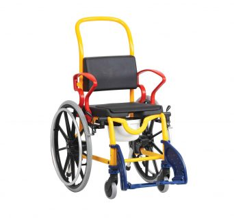Robotc Augsburg Self Propelled shower Commode Wheelchair Chair
