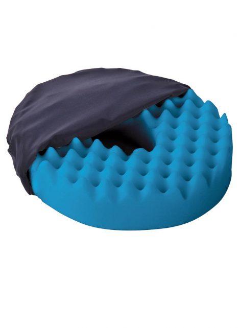 Convoluted Single Layer Ring Cushion