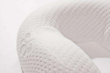 Ergonomic Memory Foam Neck Pillow