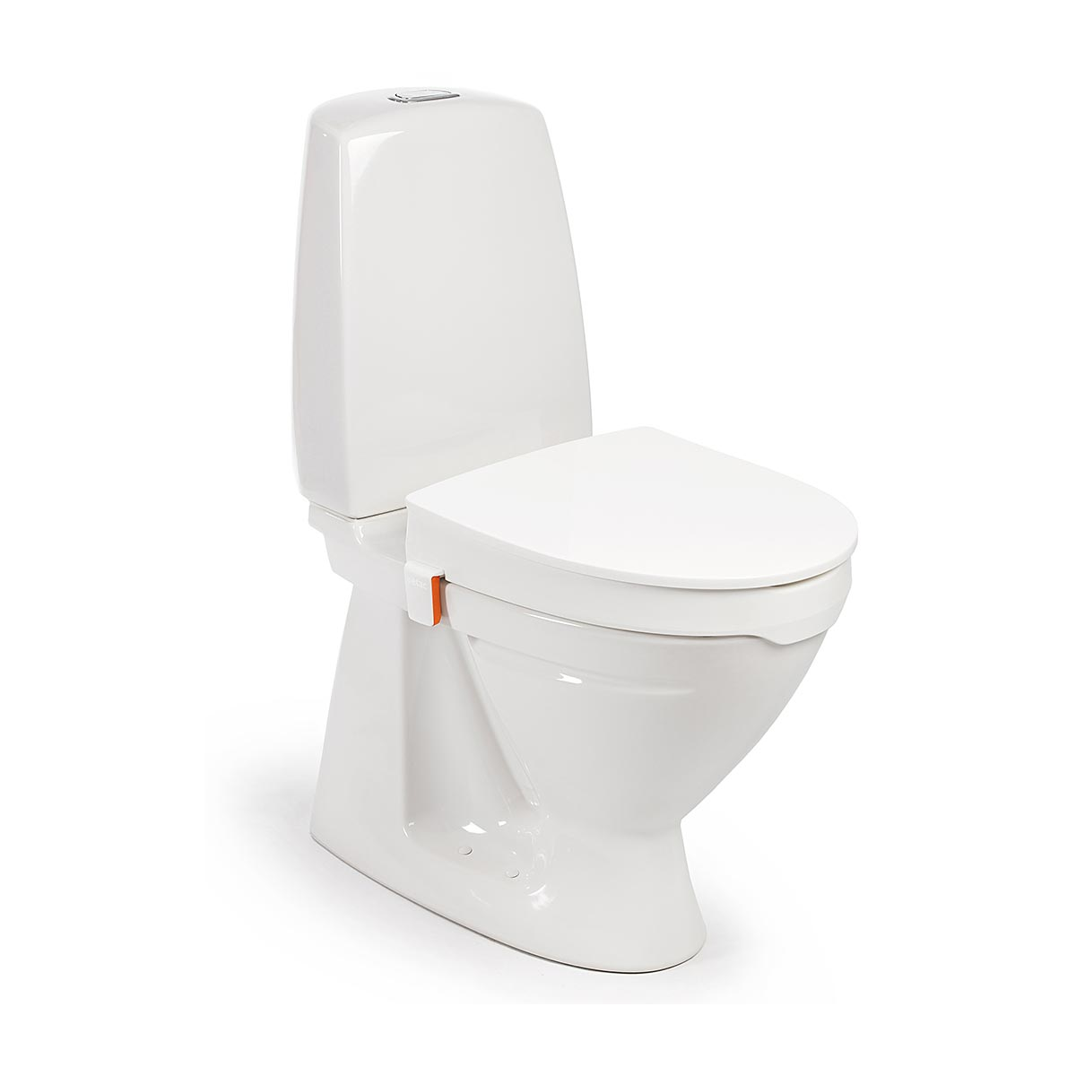 My-Loo Toilet Seat Raiser With Lid