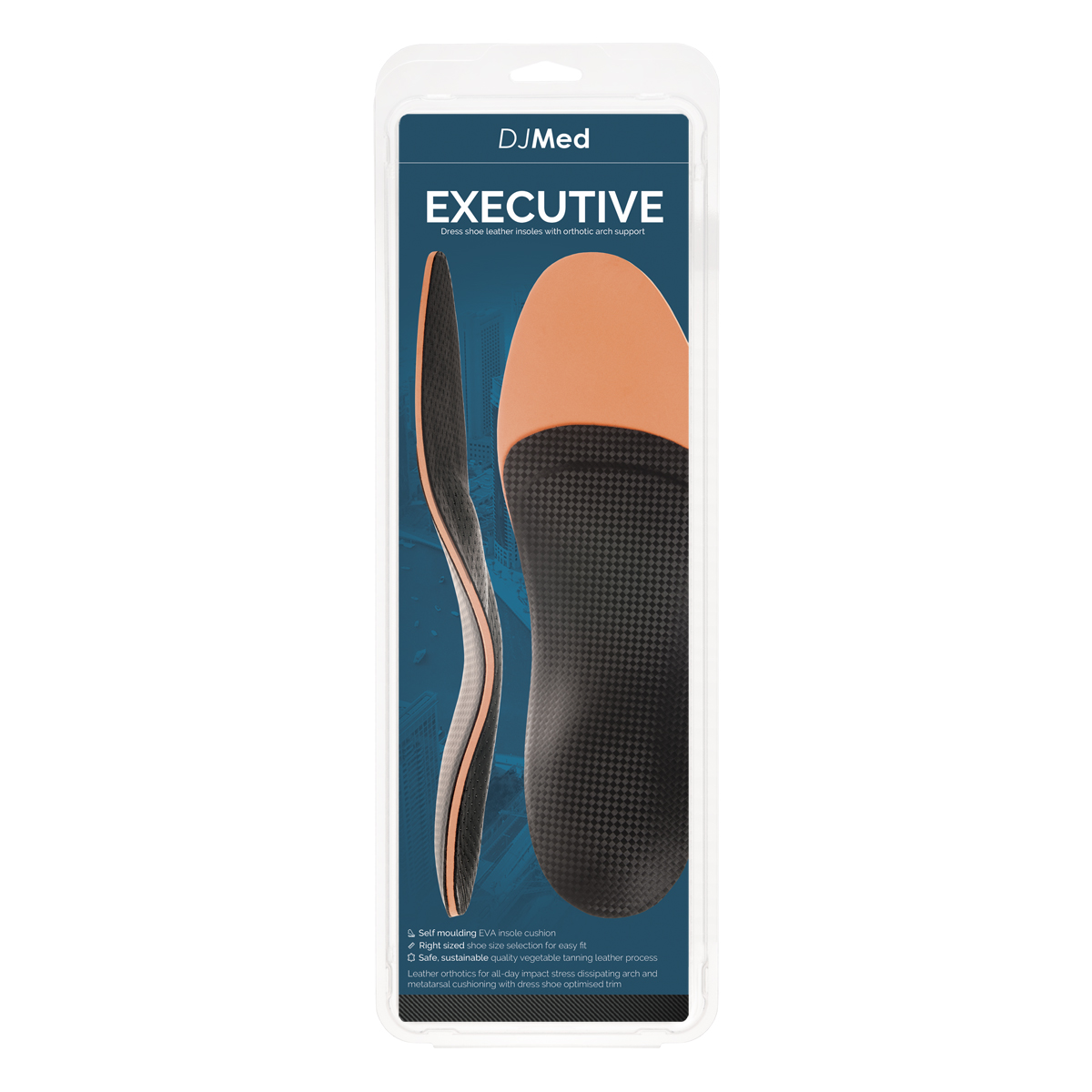 ee77c67980f4 DJMed Signature Executive - Dress Shoe Leather Insoles