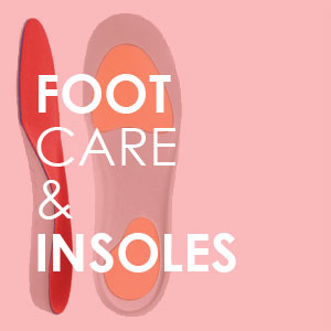 Foot care and insoles