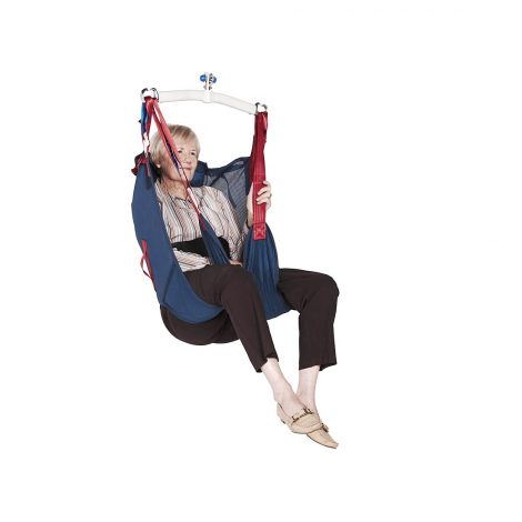 Hygiene Sling With Head Support In Use