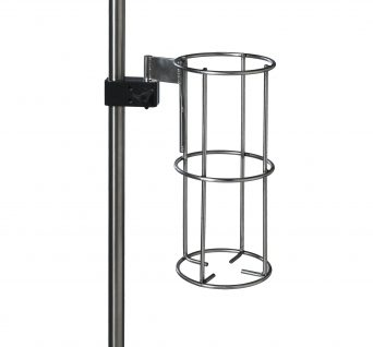 IV Pole Oxygen Bottle Holder