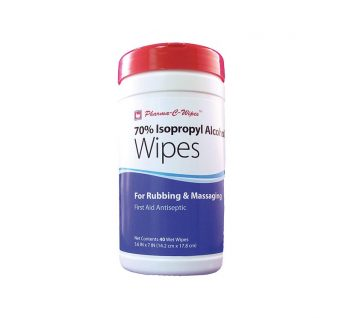 Isopropyl Alcohol Wipes, Cannister