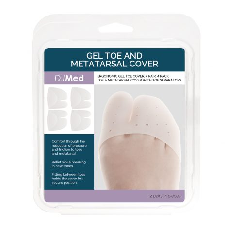 Metatarsal Sleeves – Gel Toe & Metatarsal Cover Box
