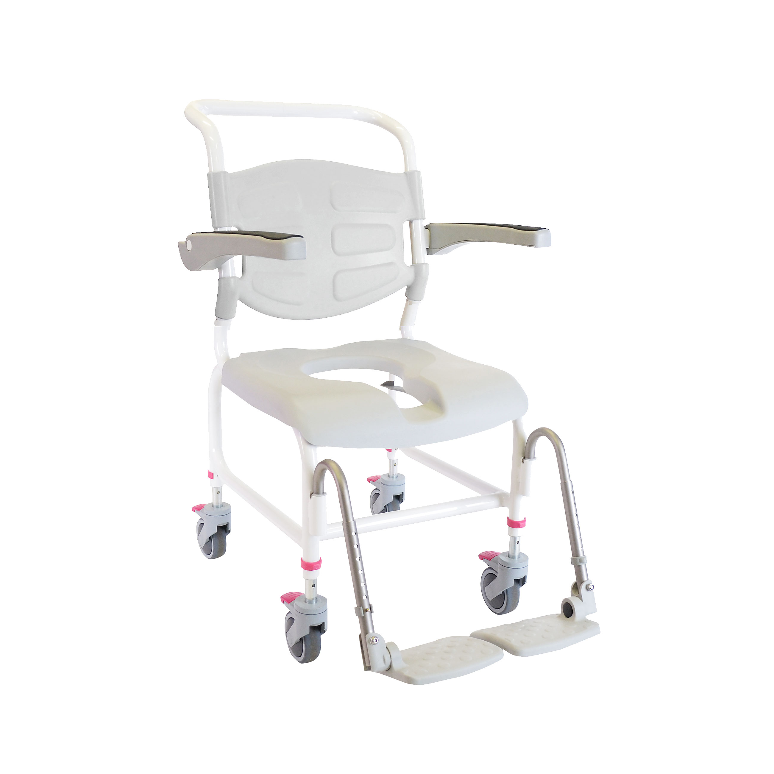 back medical products arms chair with premium series drive and csa shower