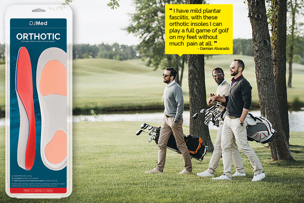 Orthotic Insole Golf