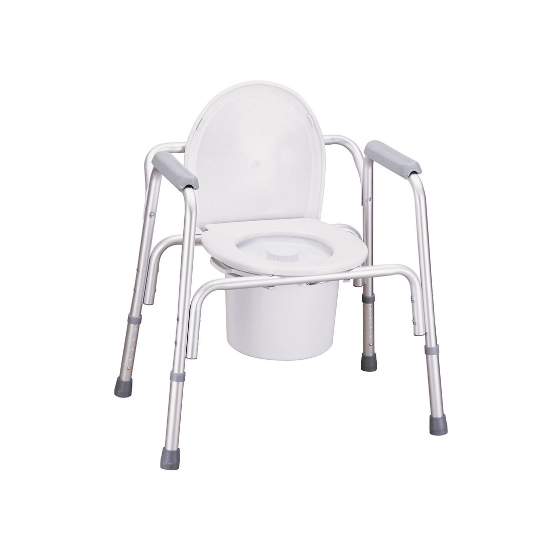 Over Toilet Aluminium Commode Chair - Aluminium Commode Chair