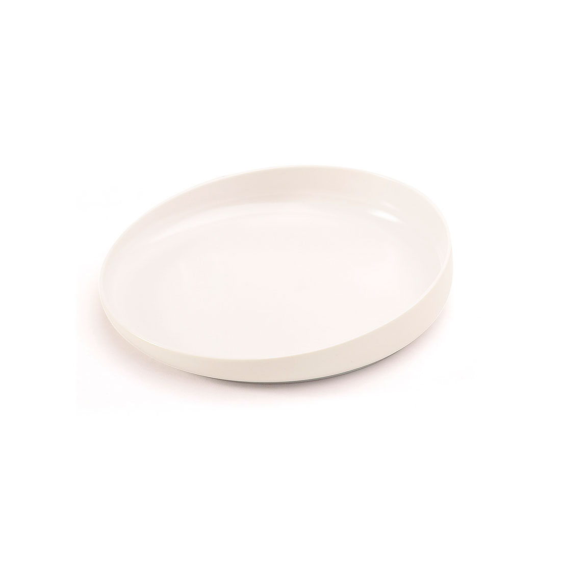 Plate With Raised Edge
