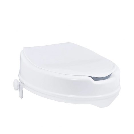 Raised-Toilet-Seat-With-Lid