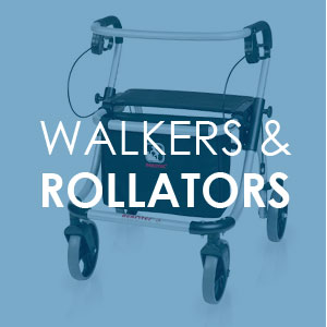 Rollators walking frames