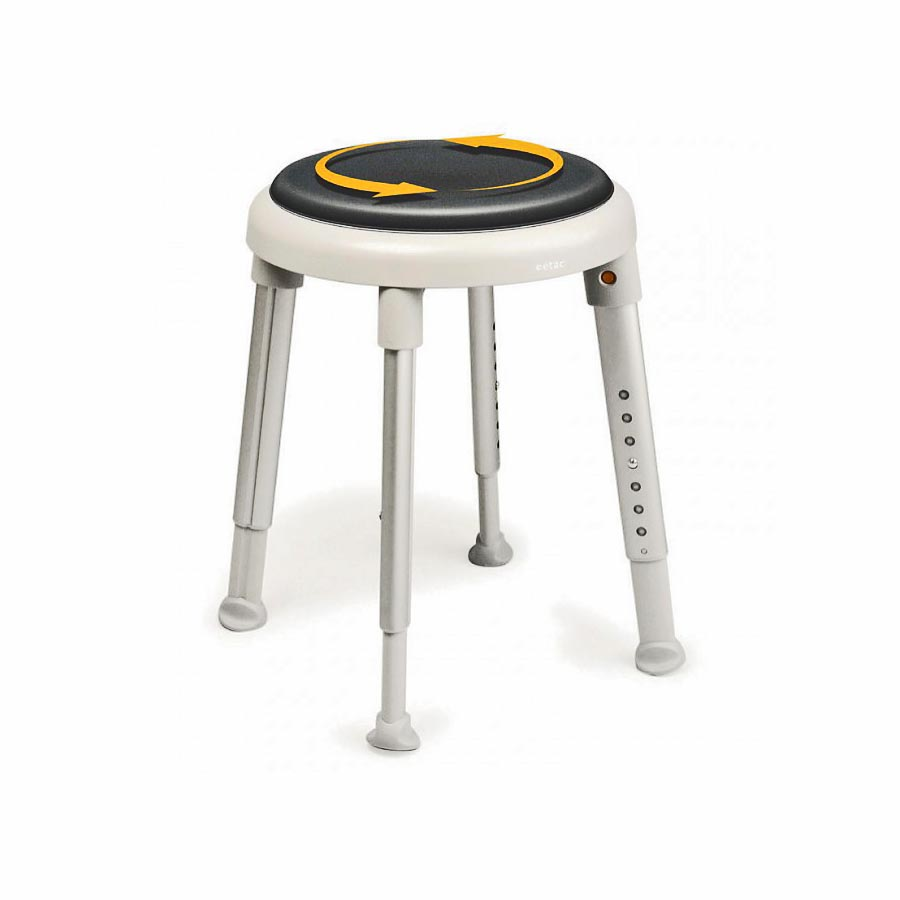 Round Swivel Shower Stool