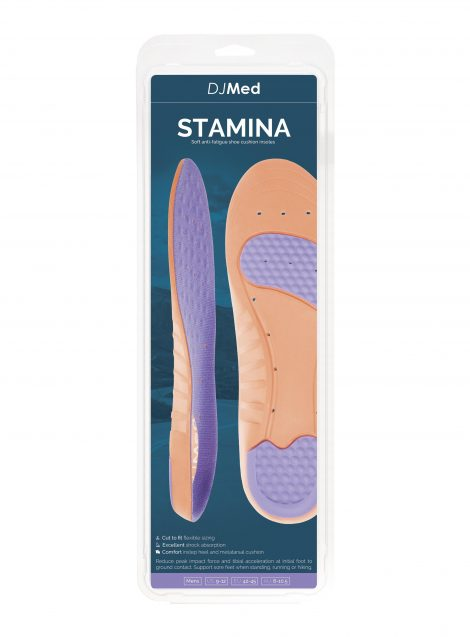 Stamina DJMed Soft Insoles Box