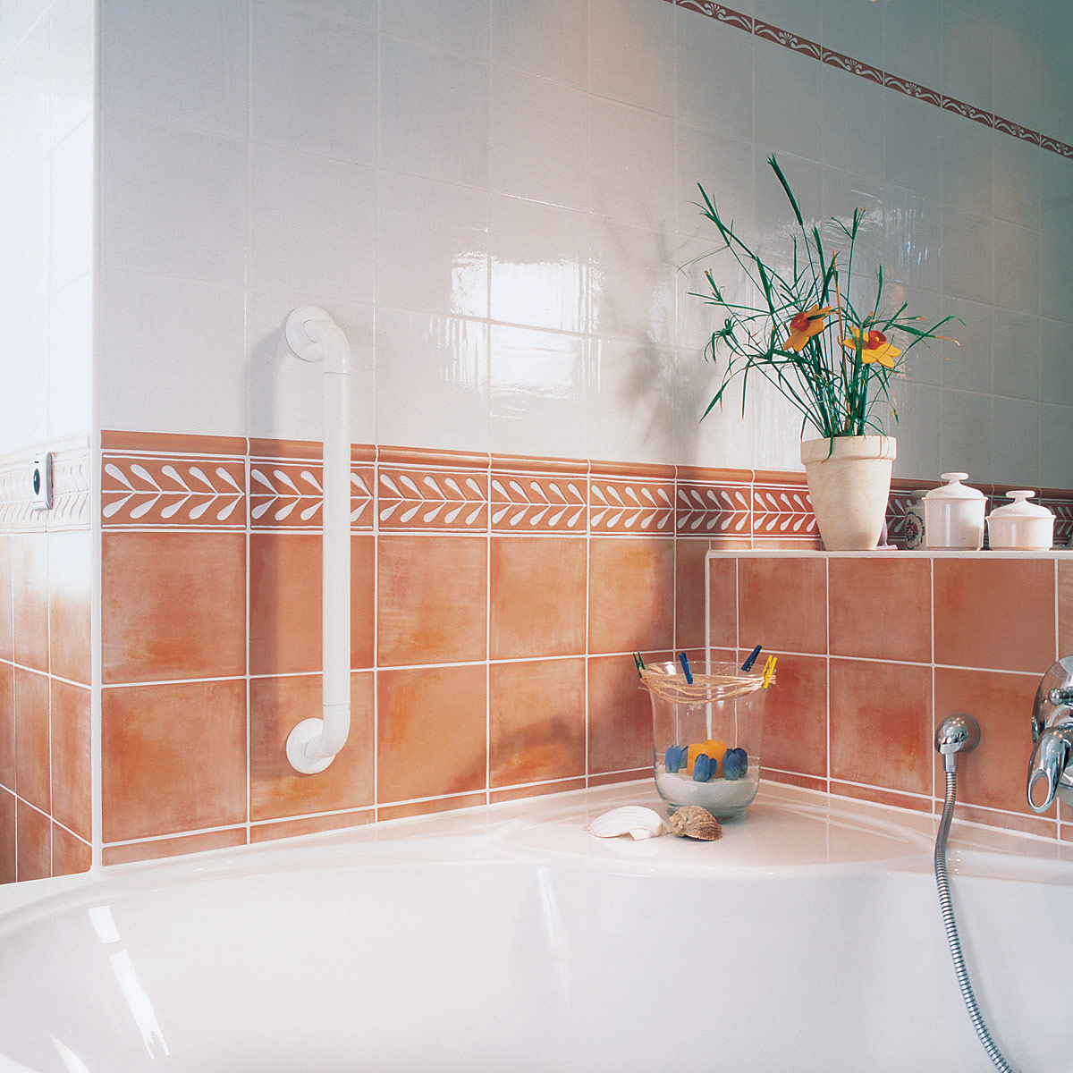 Bathroom safety grab bars - Grab bars for toilet in bathrooms ...