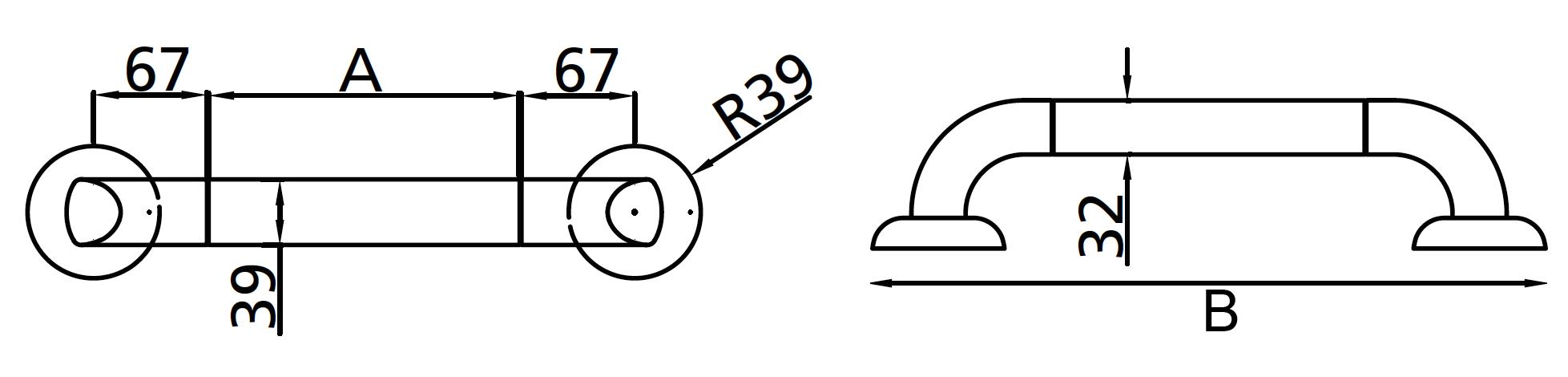 Swing Grab Rail