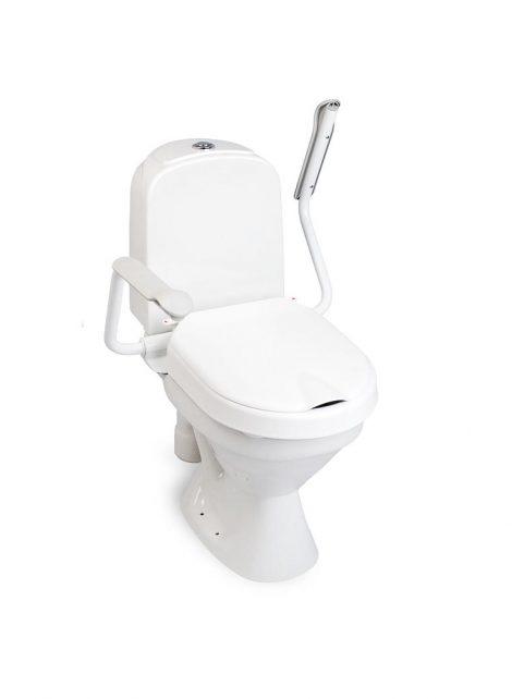 Toilet Seat Raiser & Arm Support Etac