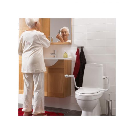 Toilet Support Arms By Etac Use