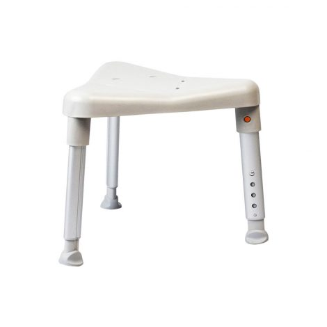 Triangular Shower Stool Low