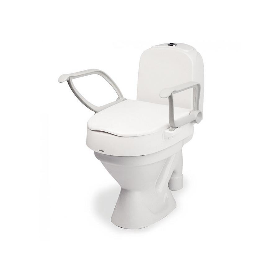 Etac Cloo Toilet Raiser with Armrests