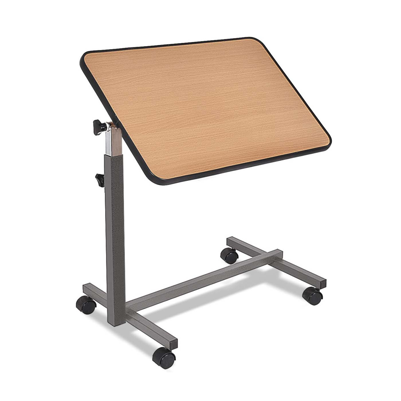 Tilt Overbed Hospital Table
